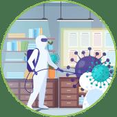 Desinfección con Ozono y Nebulización en Las Rozas